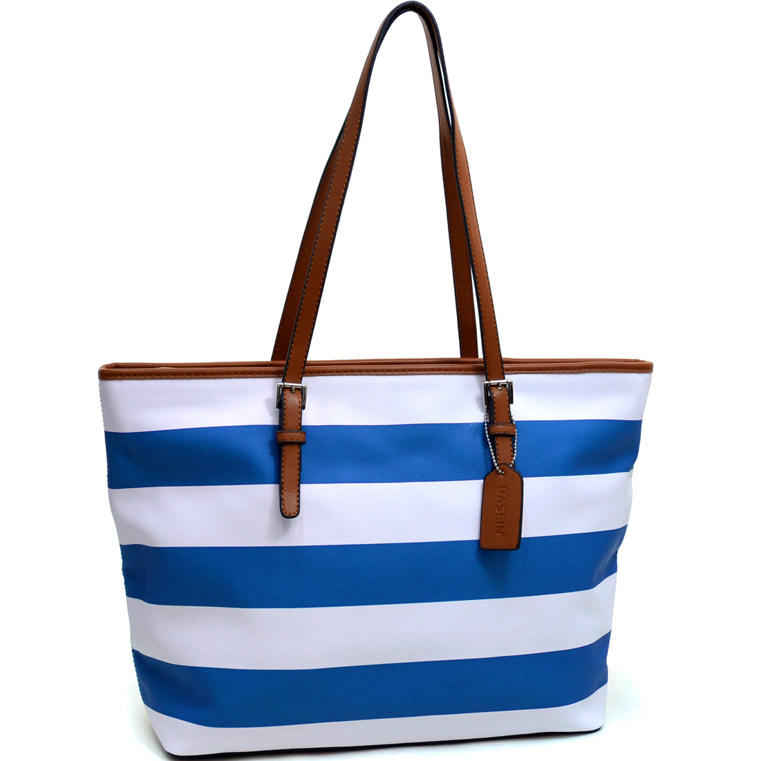Dasein® Preppy Striped Tote