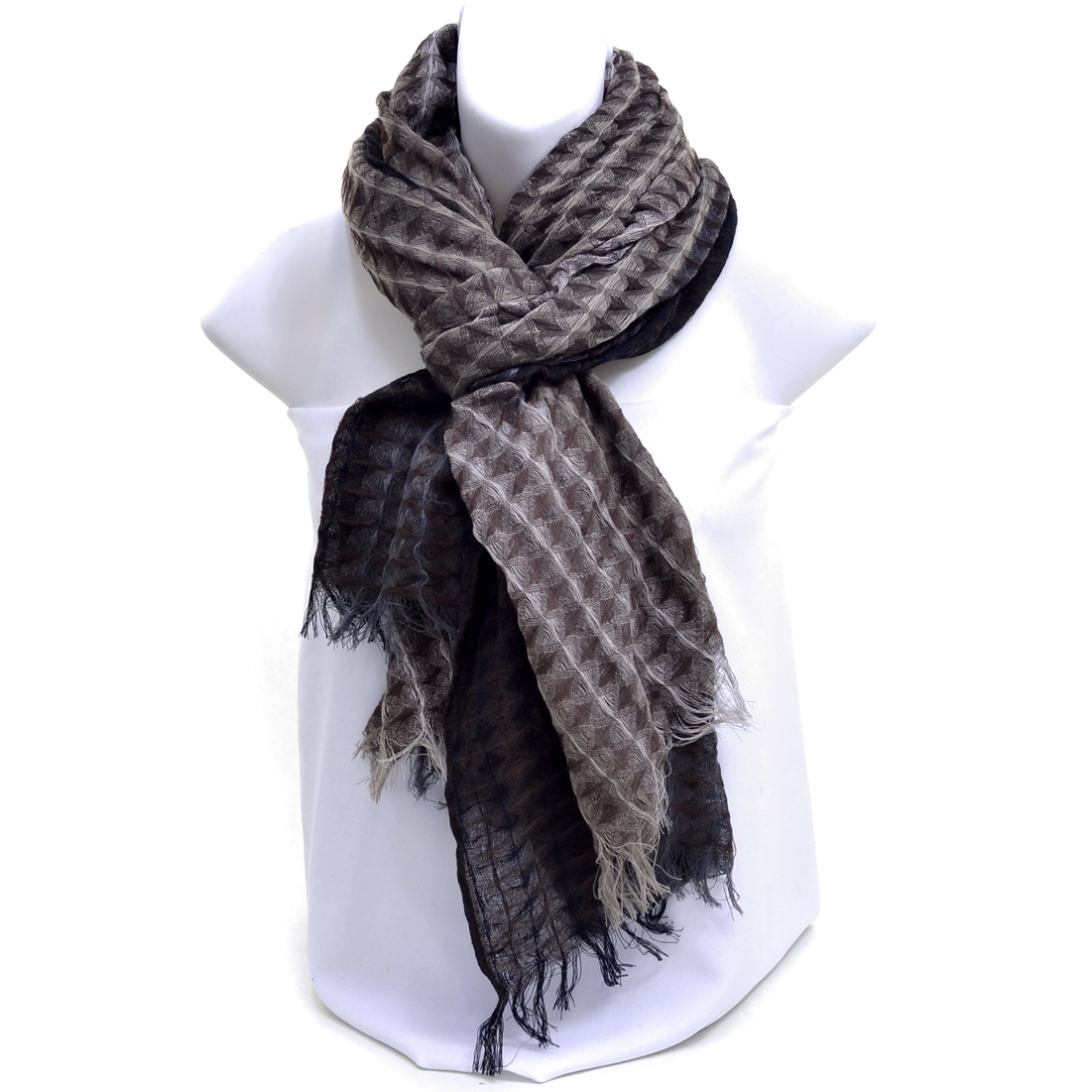 Multicolor Gradient Fashion Scarf