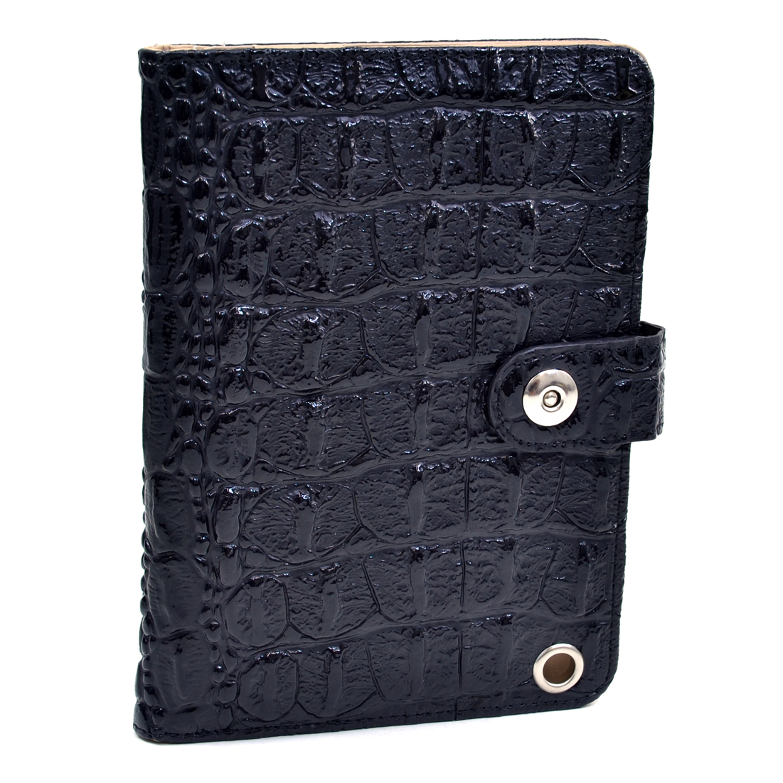 Dasein® Patent Faux Crocoskin iPad Mini Case New Smart Stand Cover for iPad Mini