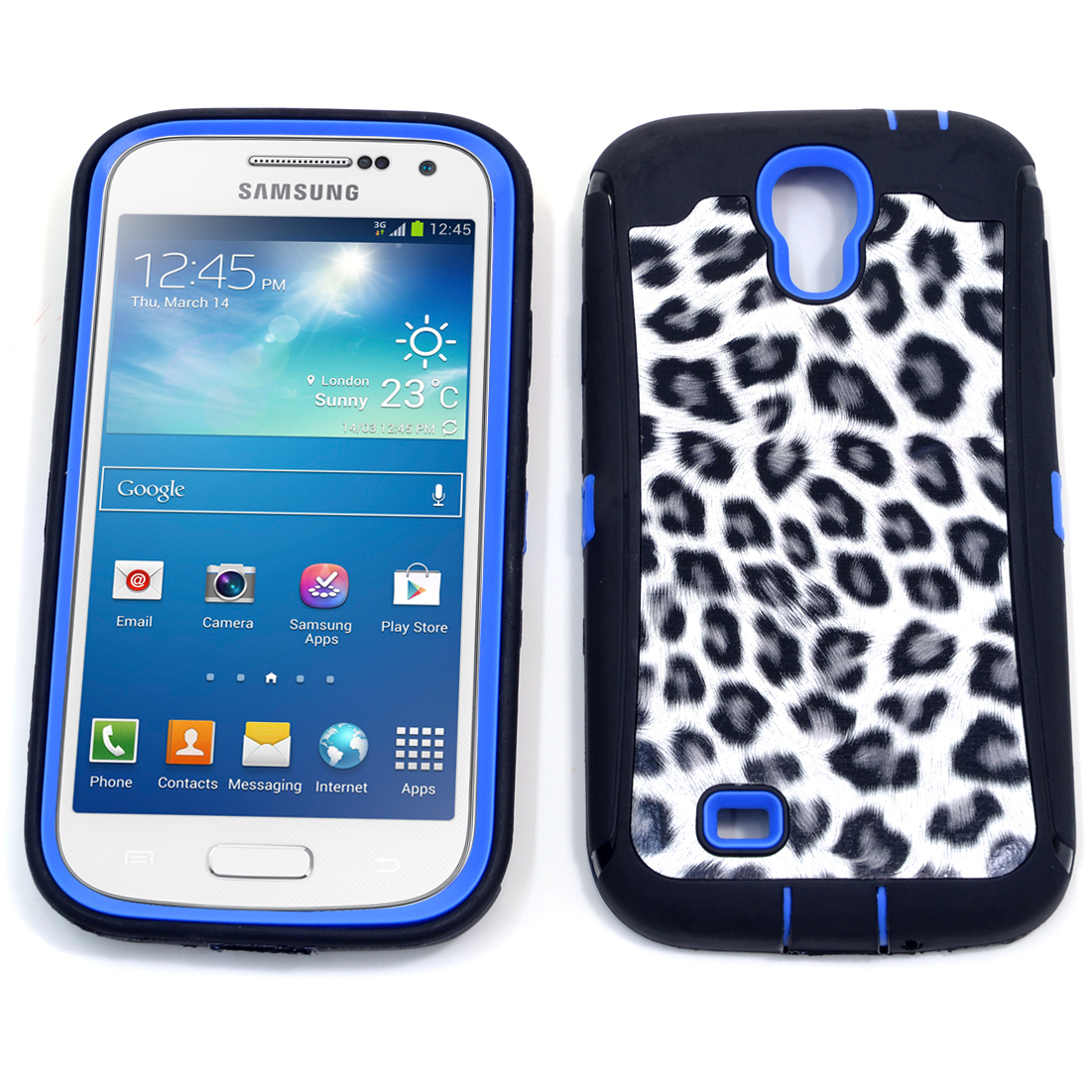 Dasein® Black Leopard Print Case for Samsung Galaxy S4