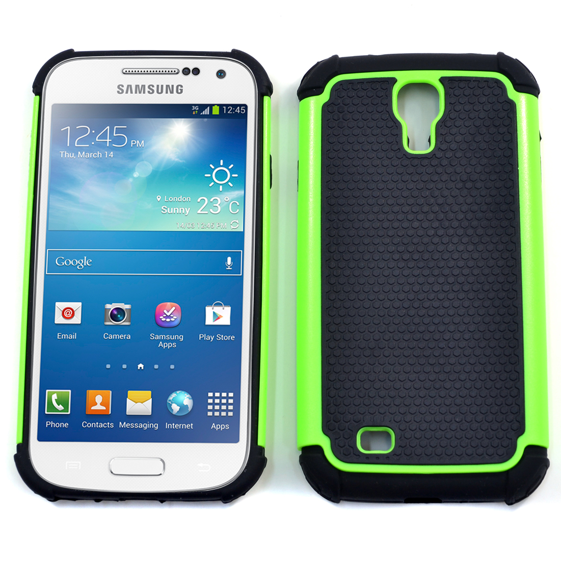 Dasein® Classic Textured Cell Phone Case for Samsung Galaxy S4