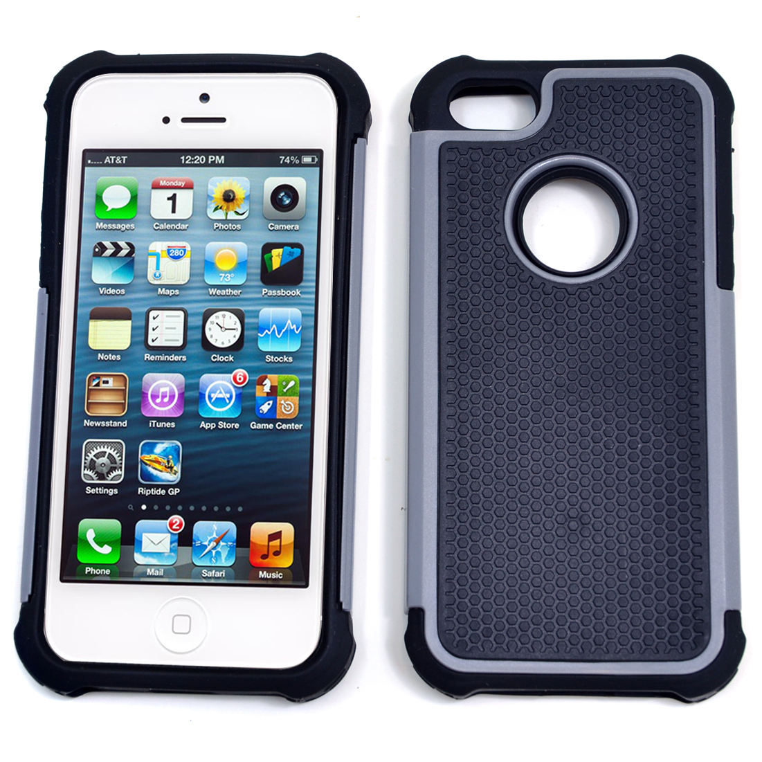 Dasein® Classic Textured Cell Phone Case for iPhone 5