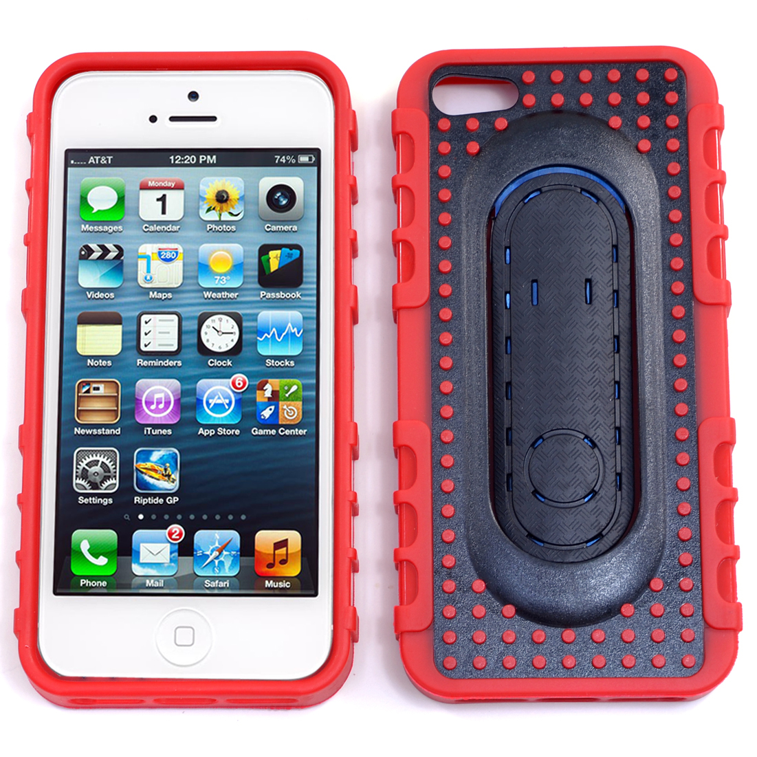 Dasein® Pop Spring Stand Cell Phone Case for iPhone 5