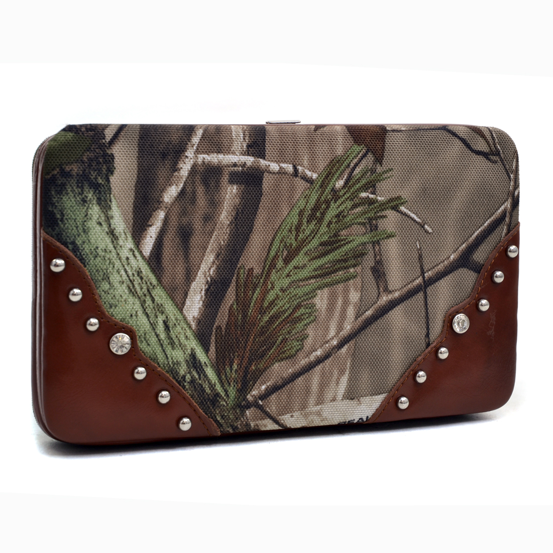 Realtree® Studded APG Camouflage Frame Wallet
