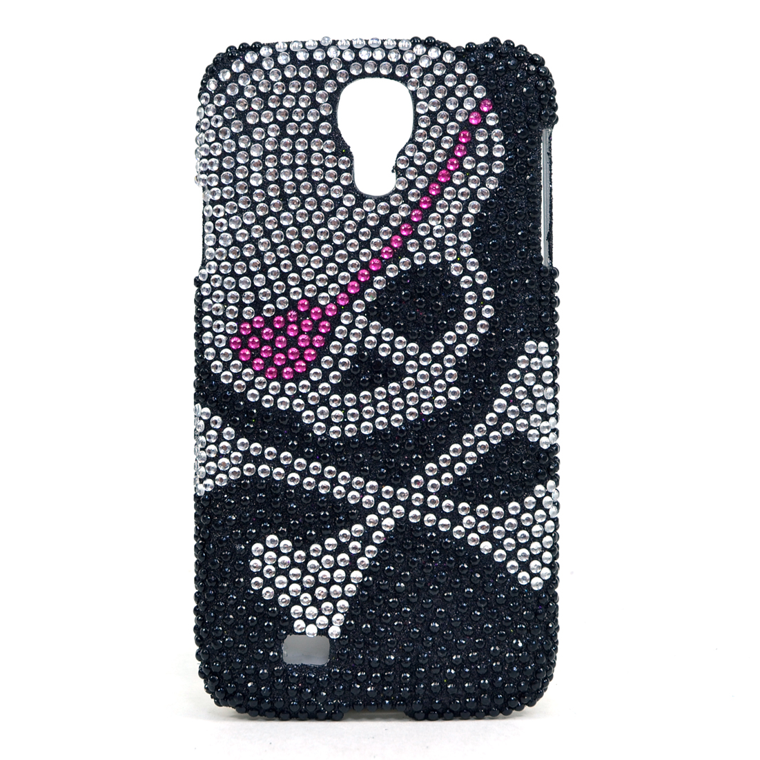 Dasein® Skull Rhinestone Embellished Cell Phone Case for Samsung Galaxy S4