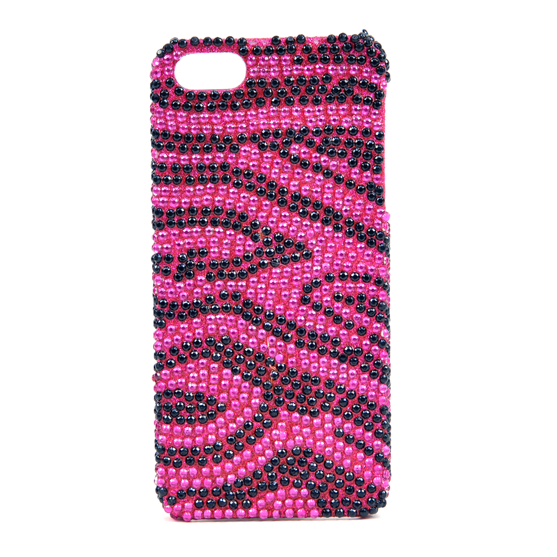 Dasein® Rhinestone Embellished Zebra Cell Phone Case for iPhone 5