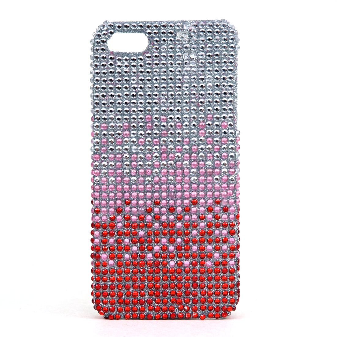 Dasein® Rhinestone Embellished Gradient Cell Phone Case for iPhone 5