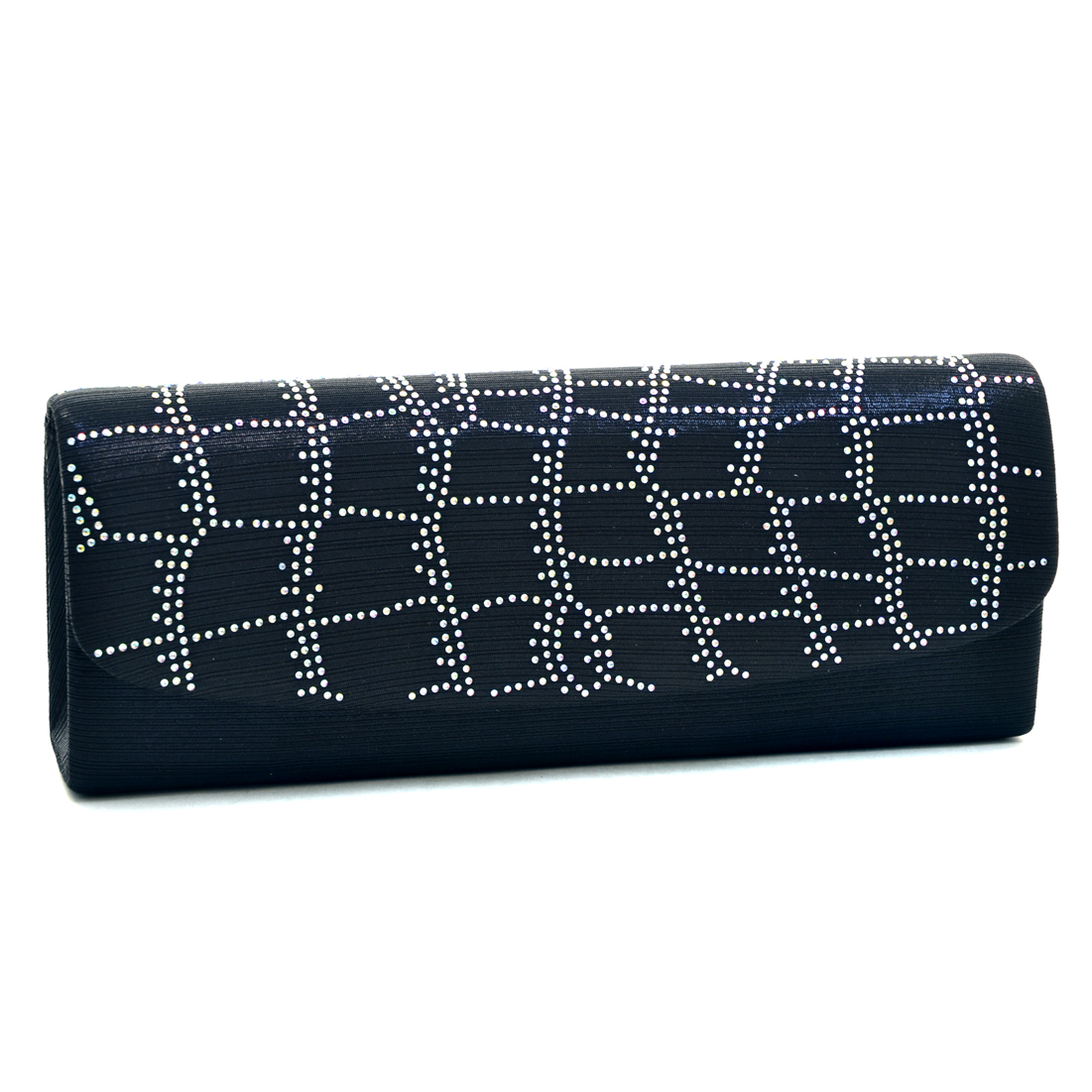 Dasein® Abstract Rhinestone Evening Clutch