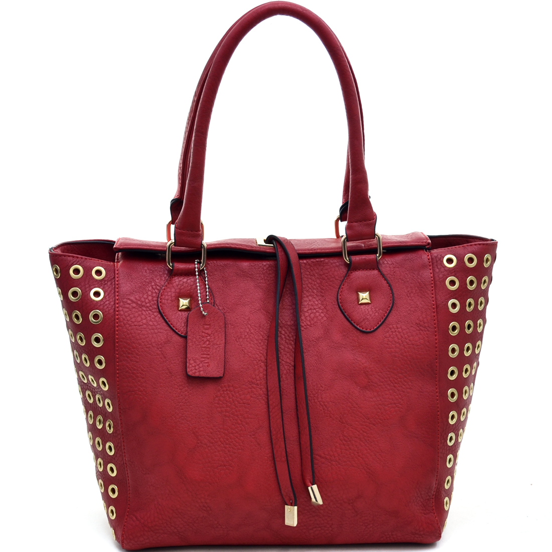 Dasein® Gold Punchout Accent Tote Bag