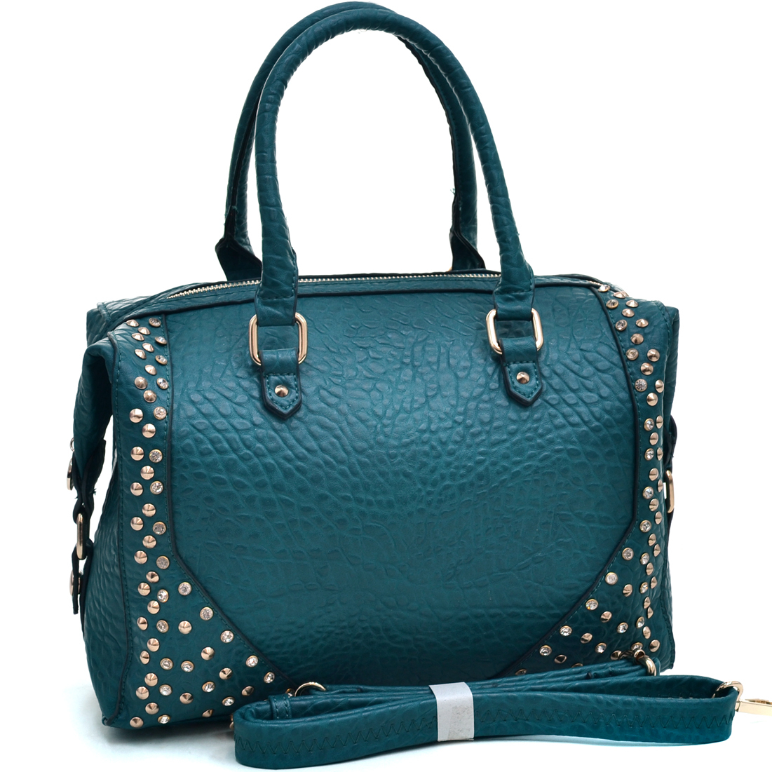 Studded Carrying Satchel