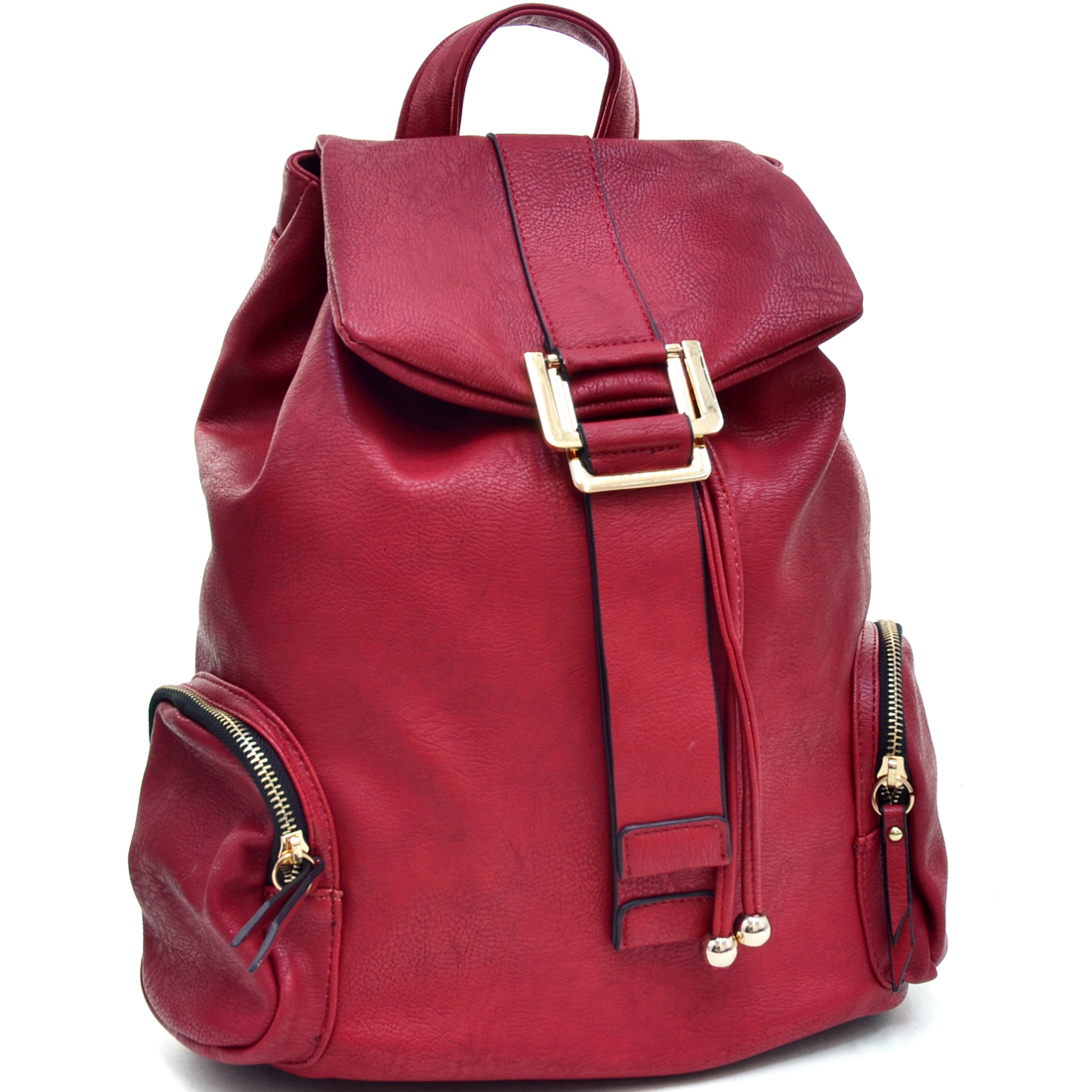 Dasein® Faux Leather Fashion Backpack