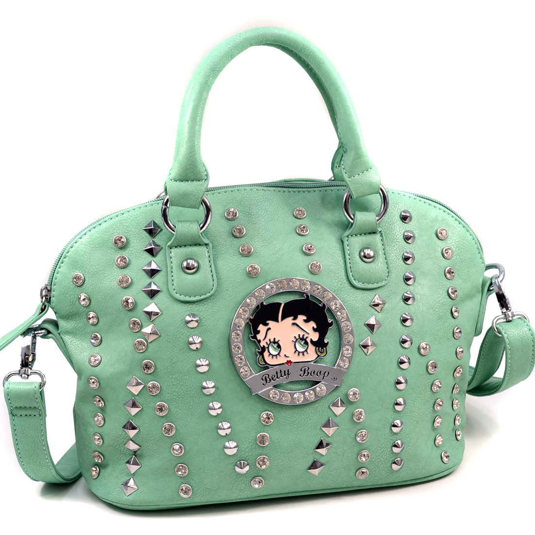 Betty Boop® Bling-Bling-Betty Mix Studded Satchel