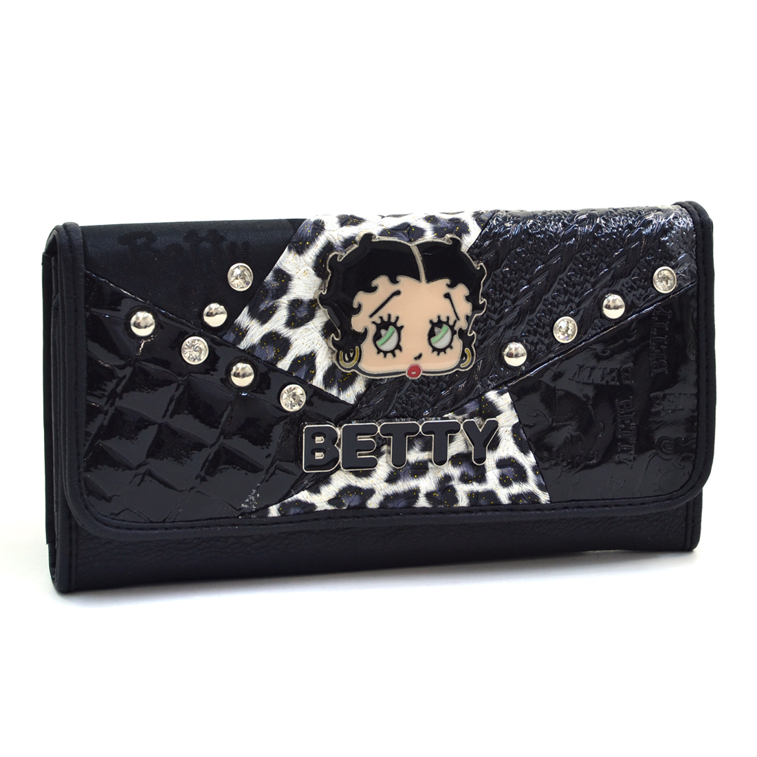 Betty Boop® Multi-Patch Boop-o-Mania Wallet