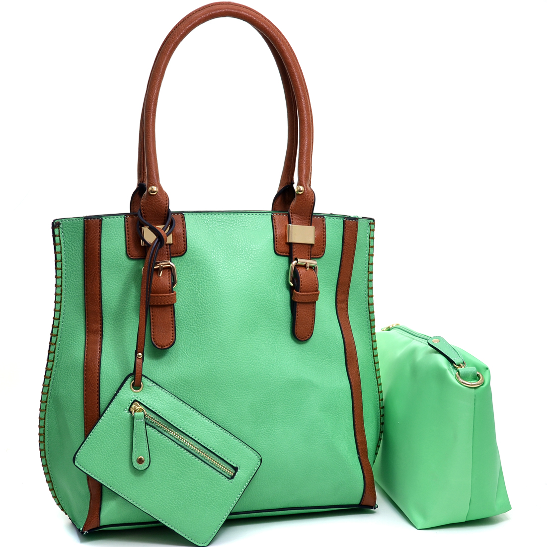 3 in 1 Belted Tote Bag