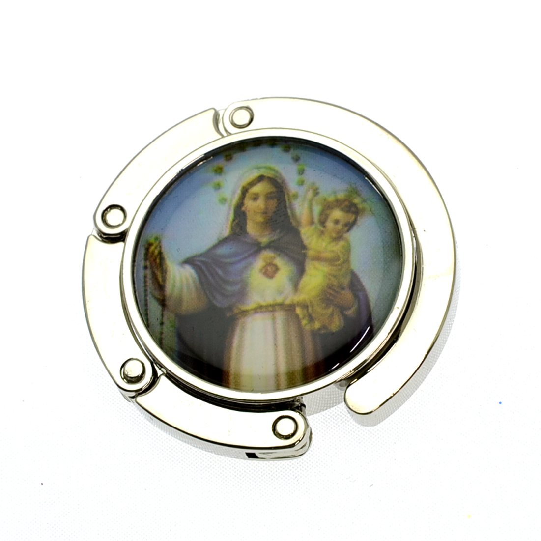 Jesus Theme Foldable Purse Hooks Hanger