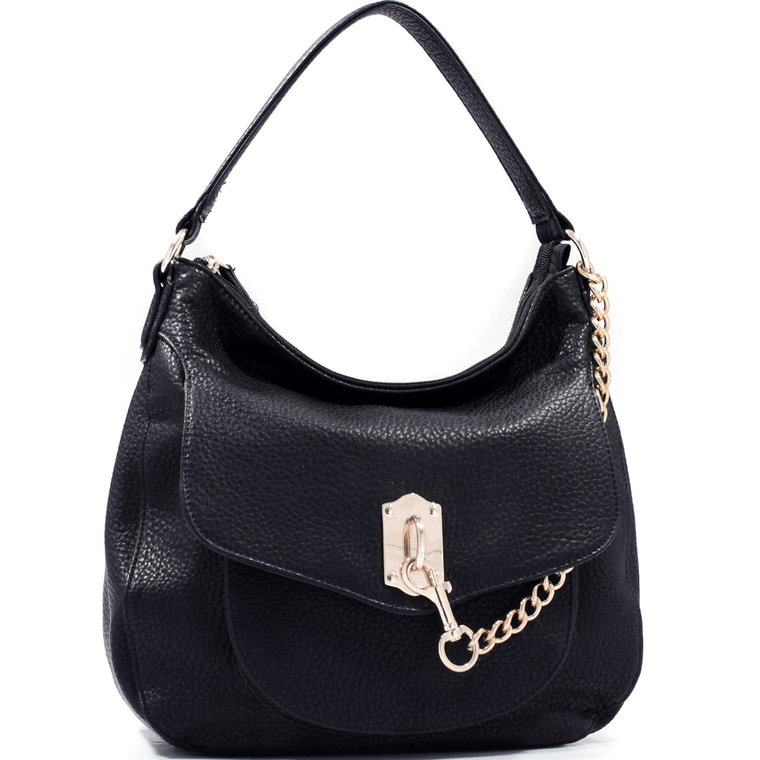 Women's Fashion Hobo Bag with Key Chain Strap