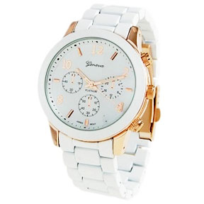 Classic Elegance Metal Cuff Watch