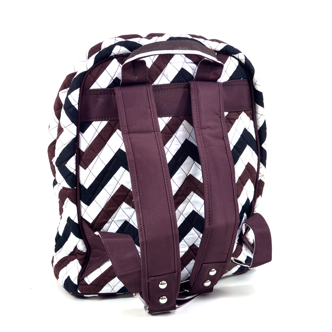 Rosen Blue™ Chevron Print Quilted Classic Backpack