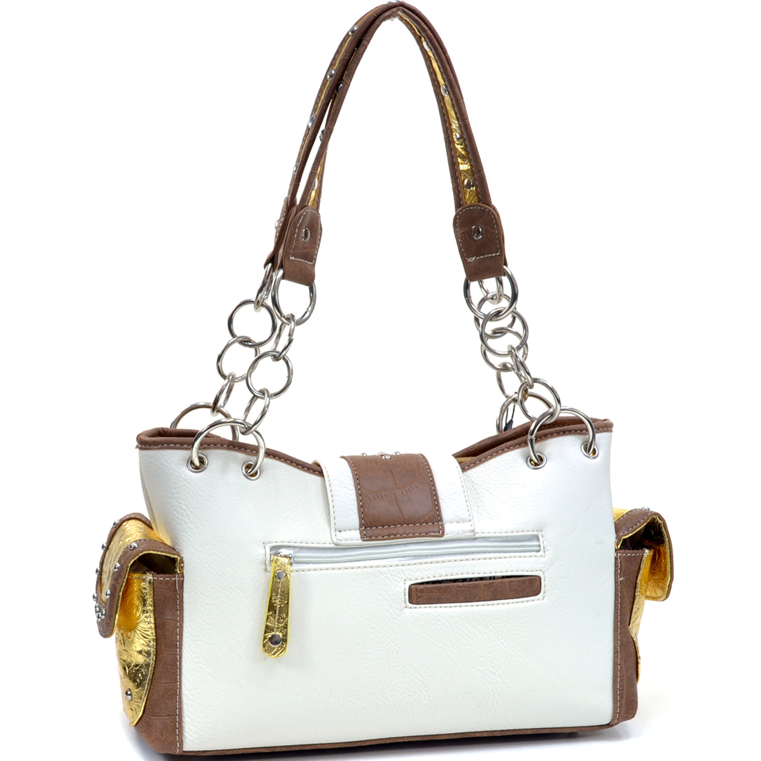 Sordid Gold Shoulder Bag