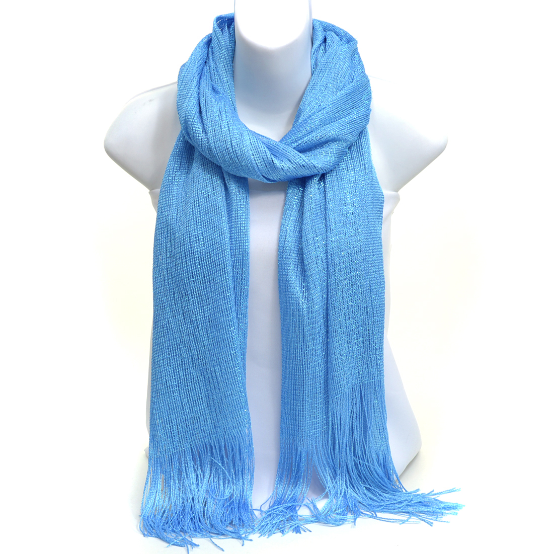 Paris Look Fringed Scarf