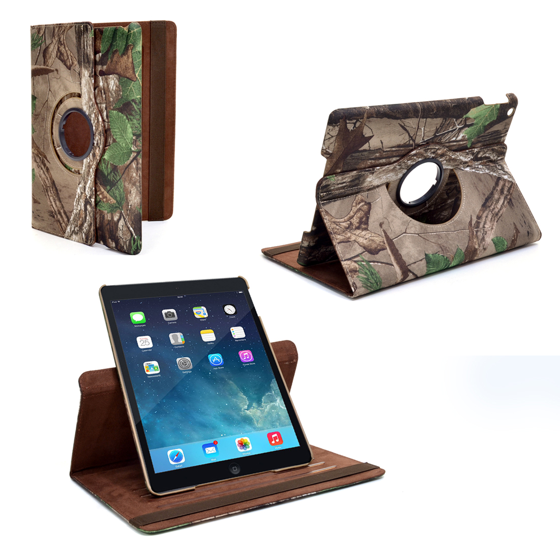 Dasein® iPad Air 360 Rotating Smart Case  in Realtree Camo