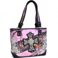 Mossy Oak® Tooled Elena Mini Tote