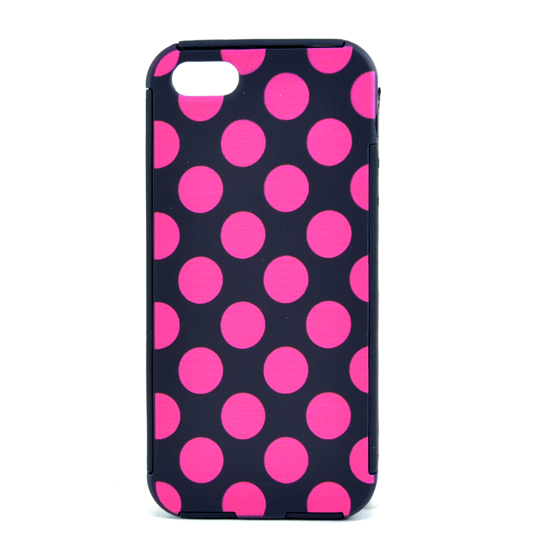 Dasein® Polka Dot Print Hardshell iPhone 5 5s 5g Case