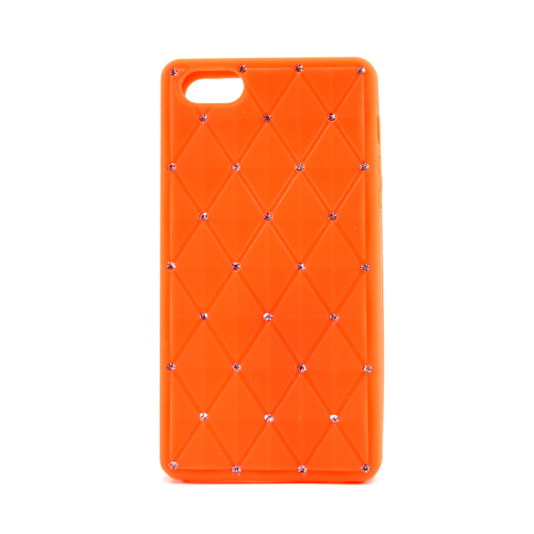 Dasein® Flexible Rhinestone Accent Case for iPhone 4