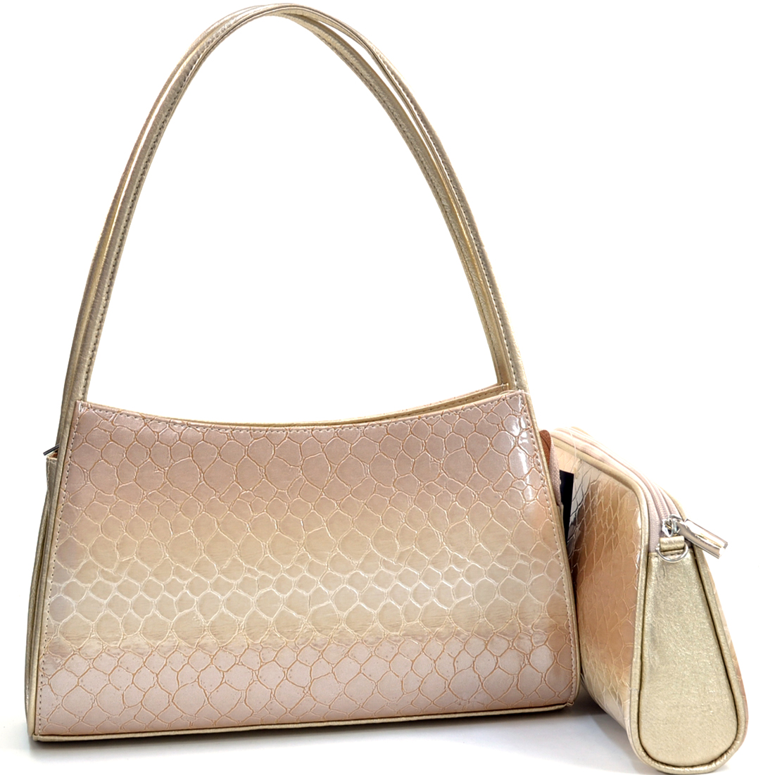 Vani Nagan® Two-Tone Shoulder Bag