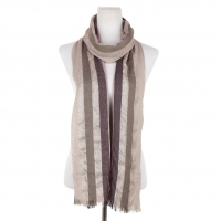 Viscose Woven Metallic Free-End Scarf
