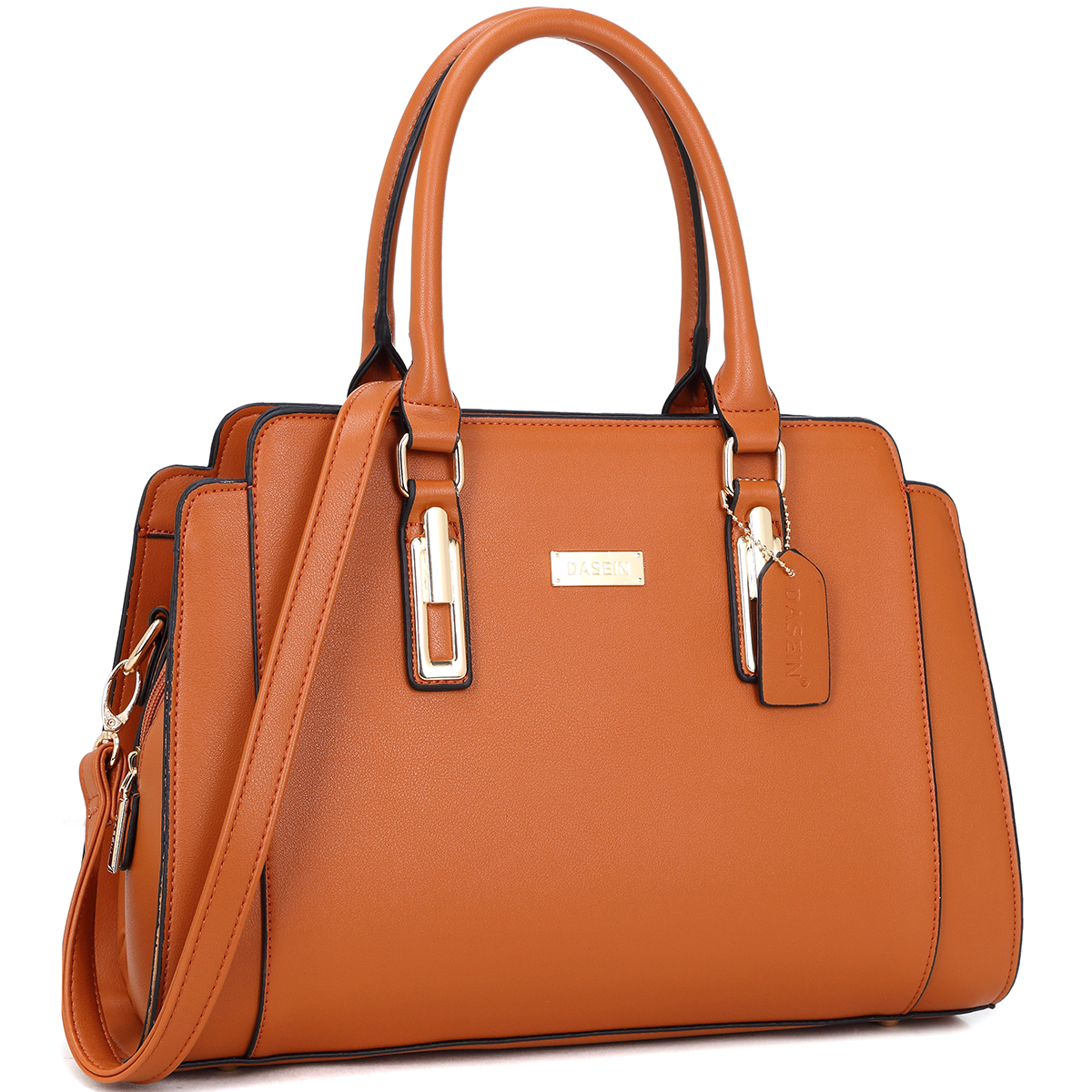 Women's Faux Leather Medium Satchel