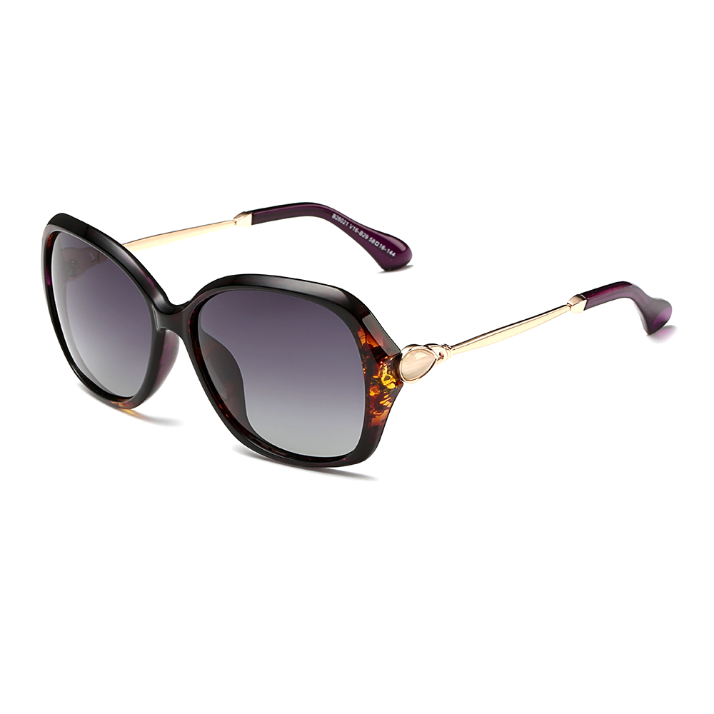 Butterfly Women's Sunglasses With Slim Metal Arms