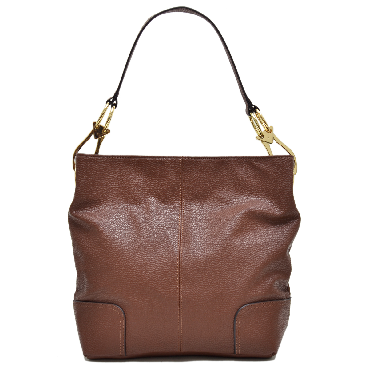 Dasein Classic Corner Patched Hobo Bag