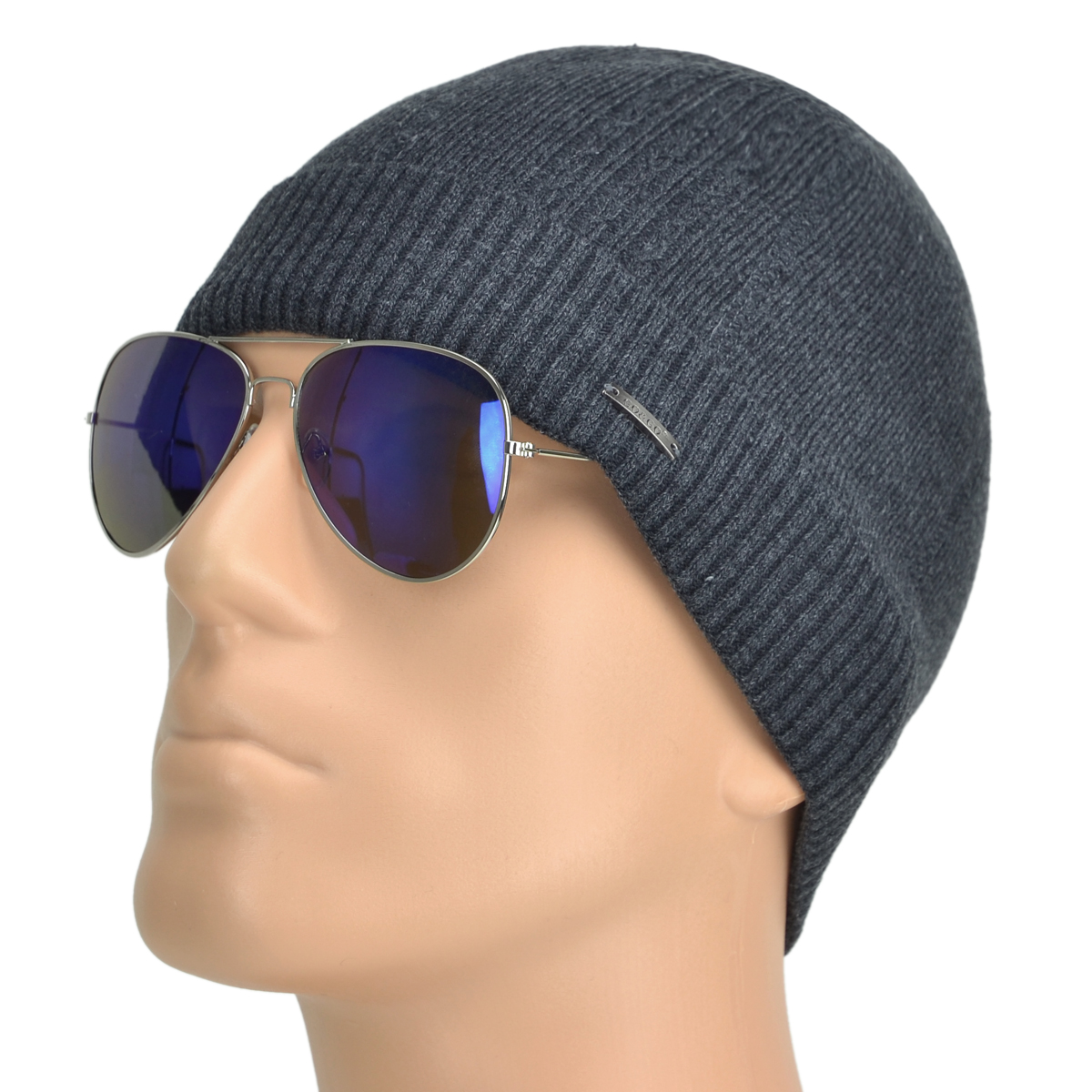 Men's Warm Beanie with fleece Ear bend