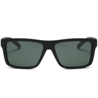 Matte Finish Wayfarer Square Sunglasses