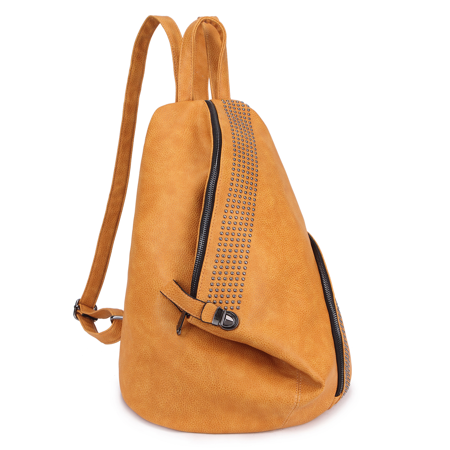 Fashionable Sling Style Backpack with Studs